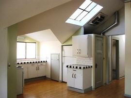 キッチン,天窓